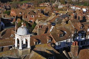 View from Church Tower