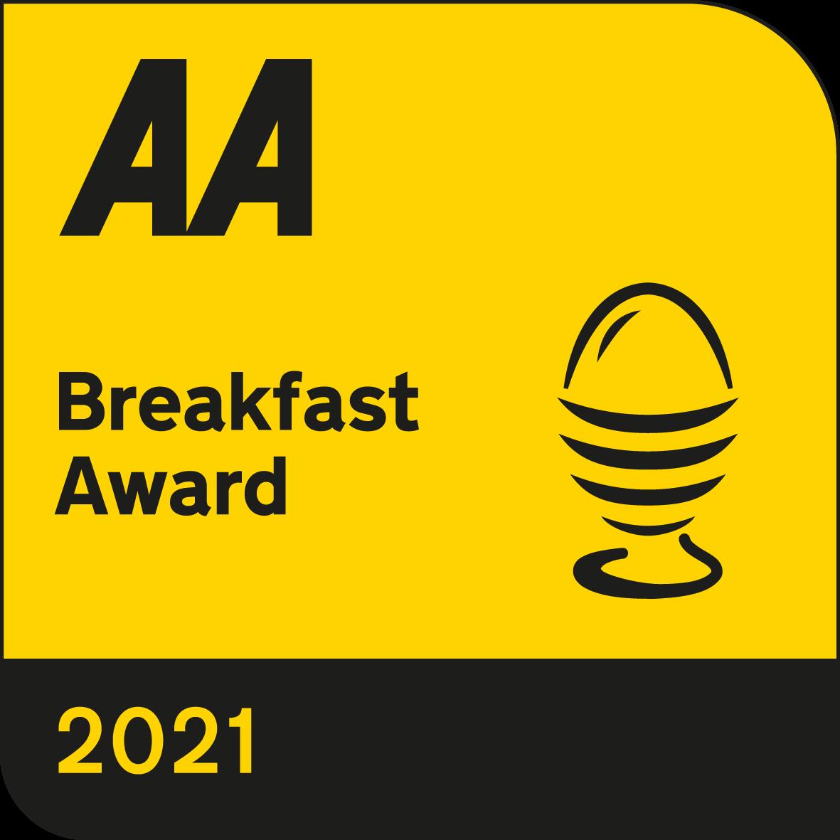 Jeakes house AA breakfast award